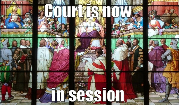 Court is now in session.